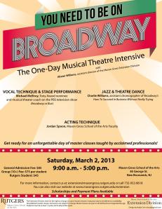 Broadway flier