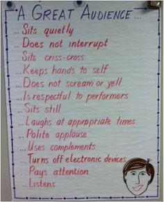 Concert Etiquette 1