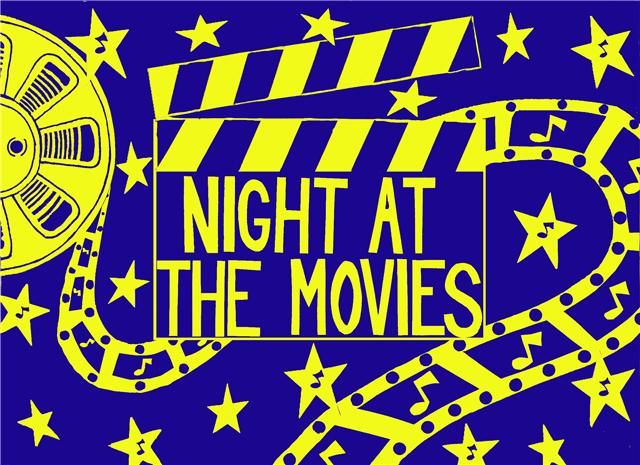 night-at-the-movies-blue-and-gold